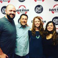 101.3 KDWB Dave Ryan, Falen & Steve-O
